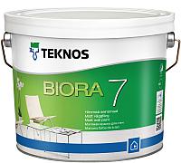Краска Teknos Biora 7 Base 1 (900мл, белый) -