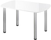 Обеденный стол Алмаз-Люкс СО-Д-03-1 (белый) -