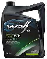 Моторное масло WOLF EcoTech 0W40 FE / 16106/5 (5л) -