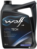 Моторное масло WOLF VitalTech 5W50 / 23117/5 (5л) -