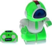 Радиоуправляемая игрушка Woow Toys Минибот Робот / 1588232 (зеленый) -