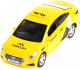 Масштабная модель автомобиля Технопарк Hyundai Solaris Такси / SOLARIS2-12TAX-YE -