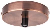 Потолочная база для светильника Navigator 61 739 / NFA-CR02-006 (черненая медь) -