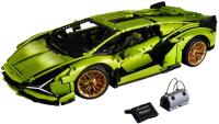 Конструктор Lego Суперкар. Lamborghini Sian FKP 37 / 42115 -