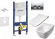 Унитаз подвесной с инсталляцией Geberit 458.126.00.1 + 115.125.21.1 + L33123000 + L30116000 -