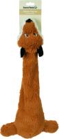 Игрушка для животных Beeztees Лиса плюшевая Yuna / 619870 (коричневый) -