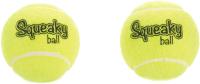 Набор игрушек для животных Beeztees Теннисный мяч с пищалкой / 625616 -