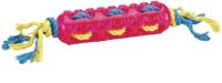 Игрушка для животных Beeztees Палка с плетеной веревкой / 625827 (розовый) -