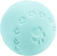 Игрушка для животных Beeztees Мяч резиновый с пищалкой / 625952 (бирюзовый) -