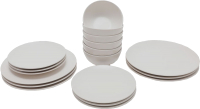 Набор тарелок Keramika Ege (18пр, серый) -
