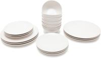 Набор тарелок Keramika Ege (18пр, белый) -