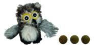 Игрушка для животных Beeztees Плюшевая сова с кошачьей мятой / 440562 -
