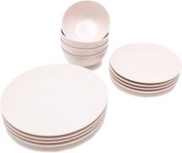 Набор тарелок Keramika Ege (12пр, розовый) -
