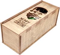 Коробка подарочная для бутылки Woodstrong 2919 (33.5х13.5х13.5) -