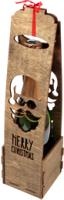 Коробка подарочная для бутылки Woodstrong 2922 (39.5х10х10) -