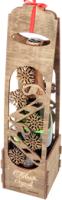 Коробка подарочная для бутылки Woodstrong 2923 (39.5х10х10) -