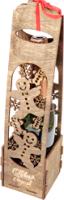 Коробка подарочная для бутылки Woodstrong 2924 (39.5х10х10) -