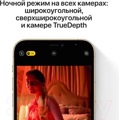Смартфон Apple iPhone 12 Pro 128GB Demo / 3H555 (золото)