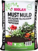 Грунт для растений Biolan Чернозем для комнатных растений (12л) -