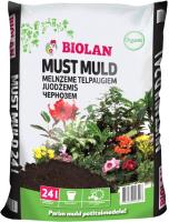 Грунт для растений Biolan Чернозем для комнатных растений (24л) -