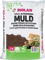 Грунт для растений Biolan Для посева и пикировки (24л) -