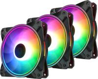 Кулер для корпуса Deepcool CF120 Plus (DP-F12-AR-CF120P-3P) -