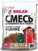 Биоактиватор Biolan Торф для компоста и сухого туалета (40л) -