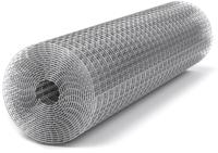 Сетка сварная Kronex 6x6x0.6мм / STK-0301 (рулон 1x25м, оцинкованная) -