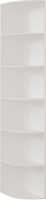 Угловое окончание для шкафа Империал Тетрис УО 30x240 (белый жемчуг) -