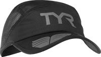 Кепка для триатлона TYR Running Cap / LRUNCAP 088 (черный/серый) -