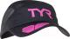 Кепка для триатлона TYR Running Cap / LRUNCAP 121 (черный/розовый) -