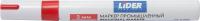 Маркер строительный LIDER E118555 (красный) -
