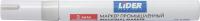 Маркер строительный LIDER E118562 (белый) -
