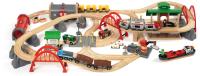 Железная дорога игрушечная Brio Большой двухуровневый люкс / 33052 -