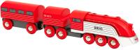 Поезд игрушечный Brio Футуристик / 33557 -