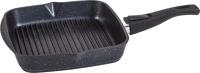 Сковорода-гриль Мечта Гранит M066802 (черный) -