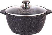 Кастрюля Мечта Гранит M45802 (черный) -