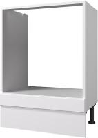 Шкаф под духовку Горизонт Мебель Ева 60 (белый софт) -
