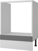 Шкаф под духовку Горизонт Мебель Ева 60 (графит софт) -