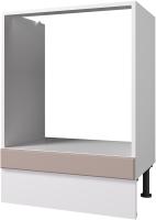 Шкаф под духовку Горизонт Мебель Ева 60 (мокко софт) -