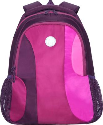 Школьный рюкзак Grizzly Брусника / RD-142-3