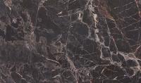 Столешница для шкафа-стола Горизонт Мебель 26x60 (мрамор черный 3029) -