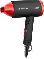 Компактный фен Brayer BR3040RD -