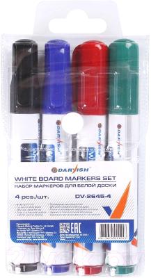 Набор маркеров Darvish Для белой доски / DV-2645-4