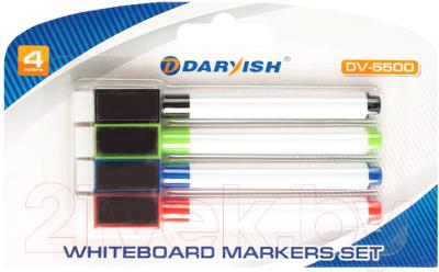 Набор маркеров, 2 шт. Darvish Для белой доски / DV-5500