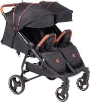 Детская прогулочная коляска Coletto Enzo Twin (черный) -