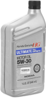 Моторное масло Honda Ultimate Full Synthetic 5W30 SN / 087989139 (946мл) -