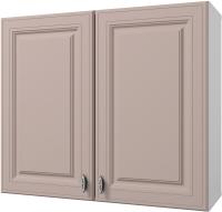 Шкаф навесной для кухни Горизонт Мебель Ева 80 (мокко софт) -