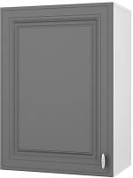 Шкаф навесной для кухни Горизонт Мебель Ева 50 (графит софт) -