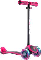 Самокат Globber Primo Plus Titanium / 442-132 (Neon Pink) -